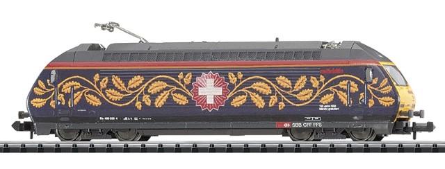 Minitrix N 15874 Großraum-Schiebewandwagen-Set der SBB Schweizer Post NEU OVP
